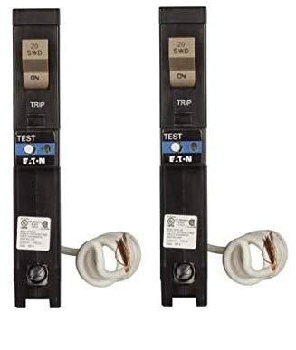 Eaton CHFAFGF120 Plug-On Mount Type CH Dual Purpose AFCI/GFC