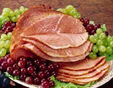 Applewood Smoked Spiral Sliced Bone in Half Ham 6 - 7 Lb.