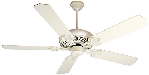"""Craftmade CC52AWD Cecilia 52"""" Ceiling Fan in Antique White,"""