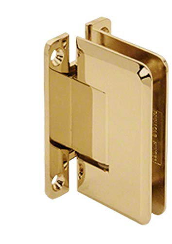 CRL Pinnacle 037 Series Brass Wall Mount Full Back Plate Standard - Series Wall Pinnacle