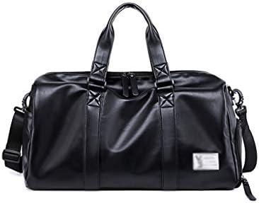 多機能ポータブルポータブルキャパゴルフの服バッグ軽量エクササイズジムバッグ防塵独立靴ポジションドライとウェットの分離デザインブラック HMMSP (Color : A)