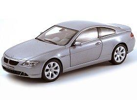 Bmw 645ci Coupe (1/18 BMW 645Ci coupe (Silver) K08701S)