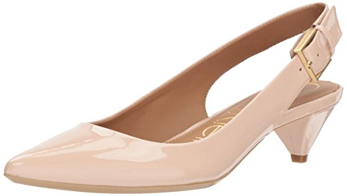 Calvin Klein Women's Lara Pump, Sheer Satin, 8 Medium US (Klein Dress Calvin Satin)