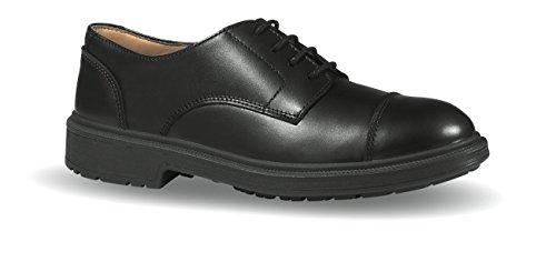 Upower Chaussures de Sécurité en 20345S3SRC Londres Taille 42en Cuir Lisse Cuir Doublure Noir