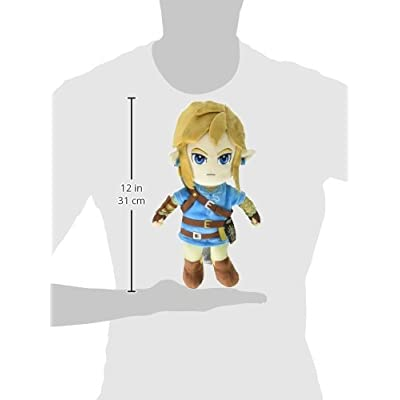 Little Buddy The Legend of Zelda Breath of The Wild Link Stuffed Plush: Sanei: Toys & Games