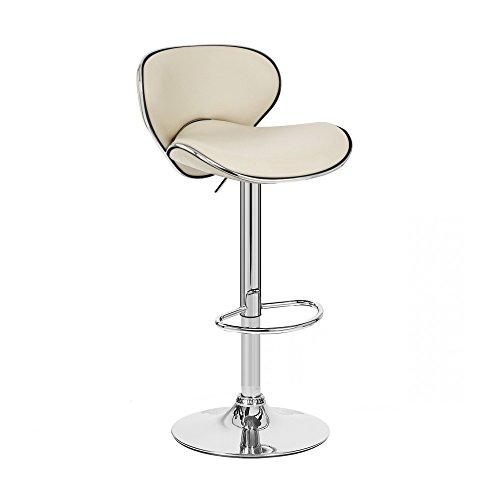 Modernhome Kappa Contemporary Adjustable Barstool – Café Latte For Sale