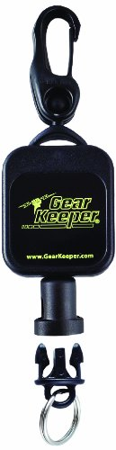 Gear Keeper RT5-5801 Micro Key/Tool Retractor with Snap Clip Mount, 50 lbs Breaking Strength, 2.5 oz Force, 36' Extension