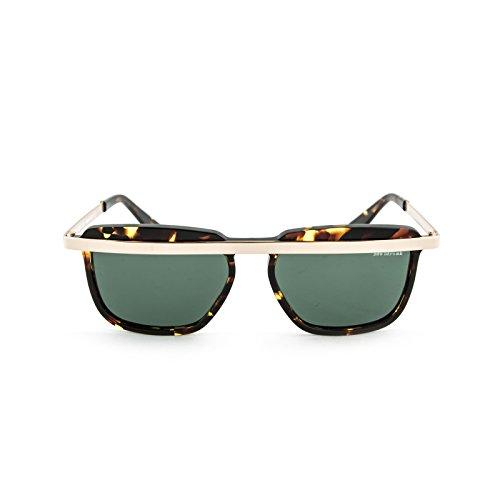 soleil Sdrunk Lunettes vert marrone tartarugato Homme Bob de qtSfw