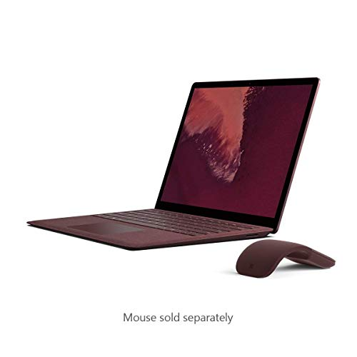 Microsoft Surface Laptop 2 (Intel Core i7, 16GB RAM,  512 GB)- Newest Version, Burgundy (Renewed)