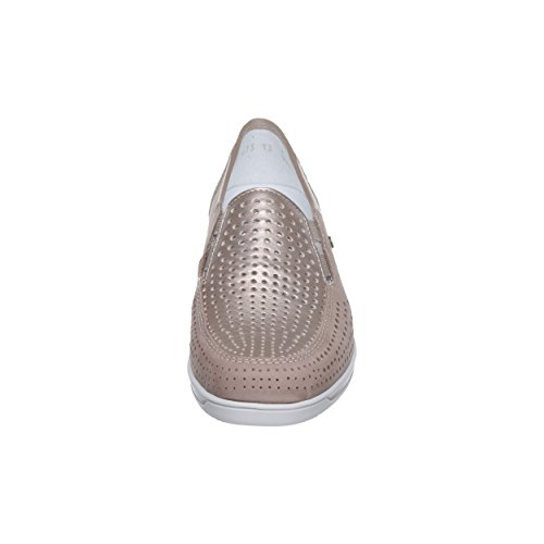 06 Platin Zapatos 36337 ara H 12 Mujer para de Beige Cordones Taupe Weite Gris qF4xEnx