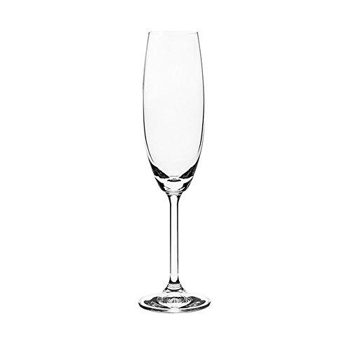 Conjunto Champagne Cristalino Roberta Bohemia