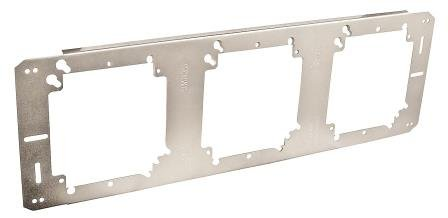 4 Inch Square 3-Position Box Bracket For Adjustable Depth Device Rings-5 per case