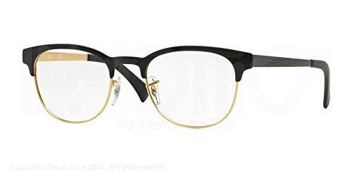 Ray-Ban Eyeglasses RX6317 2833 Top Black On Matte Gold 51 20 145