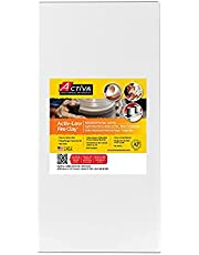 Activa 8125 Blackjack Low Fire Clay, 25 pounds White