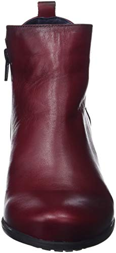 Bottes Rouge 002 Femme Dorking Brisda Classiques picota gqwTF5a