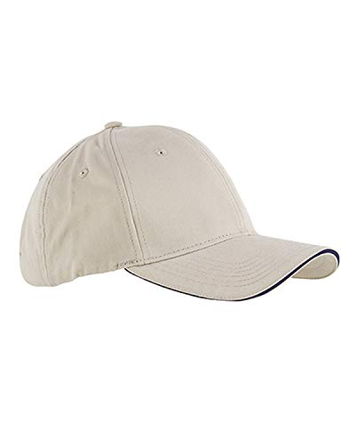 Accessories Bagedge Big (Big Accessories and BAGedge Sandwich Baseball Cap, stone/navy, One Size)