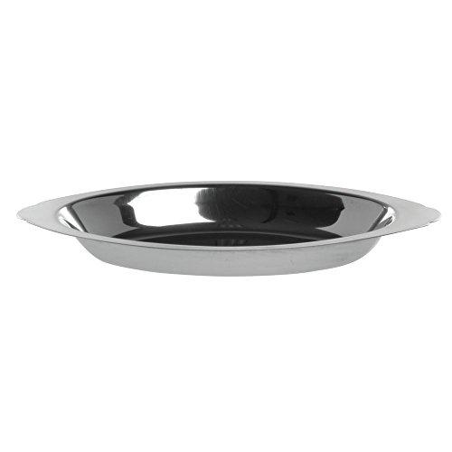 HUBERT Stainless Oval Au Gratin Dish 8 Oz