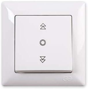Interruptor de persiana con certificado VDE 250 V 10 A Gusan Visage 01281100100179