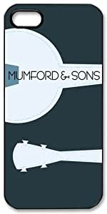 Mumford & Sons HD image case cover for iphone 5 black A Nice Present
