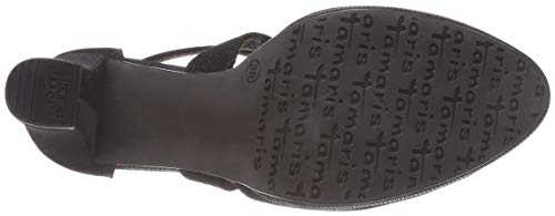 Glam con 43 Donna Black Cinturino Tamaris Scarpe Caviglia alla 24416 21 Nero tUFqwxpv