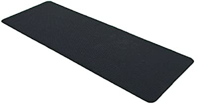 Eco-friendly 5mm Yoga and Pilates Mat - 100% All Natural Tree Rubber PVC and TPE Free and 100% Biodegradeable with Bonus Energy Band Included