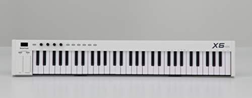 midiplus MIDI Keyboard Controller, (X6 mini),white