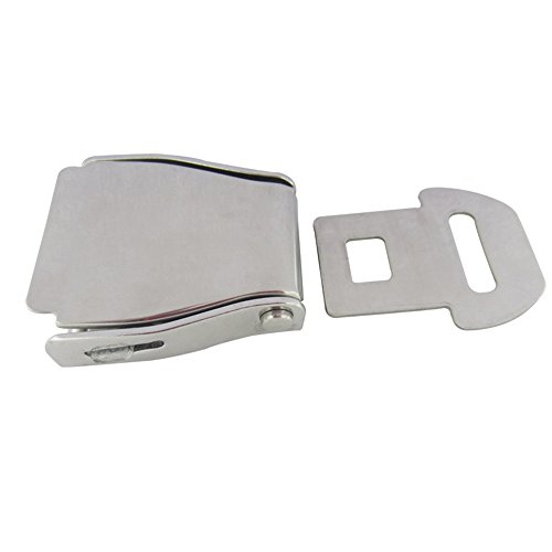 304 Stainless Steel Buckle Security Device Lock Clip For Airplane Airport Automotive Bus