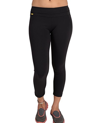 LOLE Women's Motion Crop Capris, Small, Black