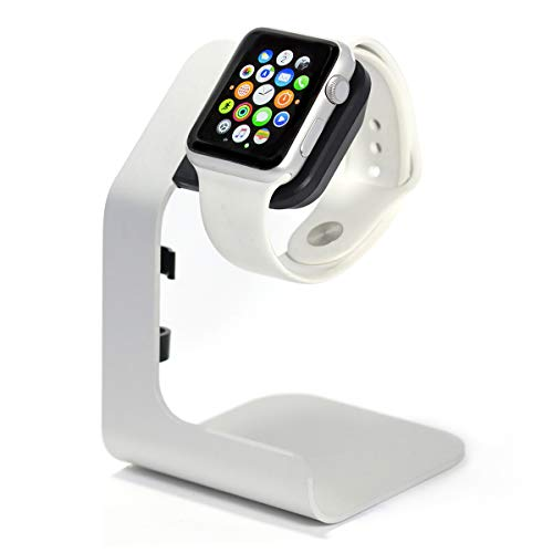 (Apple Watch Stand-Tranesca Apple Watch charging stand for Series 4 / Series 3 / Series 2 / Series 1; 38mm/40mm/42mm/44mm Apple watch (Must have Apple watch Accessories))