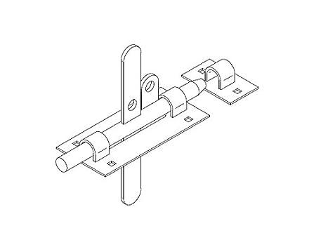 Gate Latch Diagram