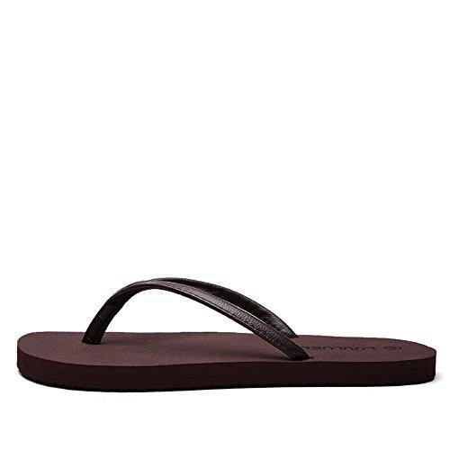 sheos Baskets Shoes Plage Wenquan Hommes antidérapantes Femmes 2018 minimalistes Mens Sandales Marron de Summer HnAAd4