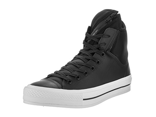 Converse Mens Chuck Taylor All Star Ma-1 Se Hi Black Sneakers In Size 41 Black