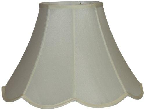 Lamp Factory Medium Scalloped Pongee