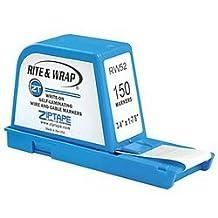 ZipTape Wire Label Dispenser, 150 markers by ZipTape