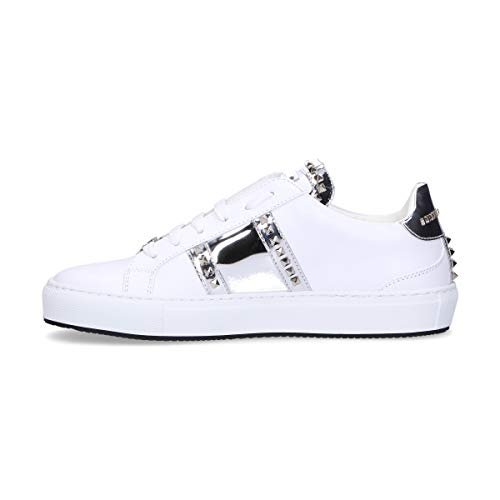 Sneakers Wsc0963ple075n0170 Leather Women's Philipp Plein White qnFSXqHw