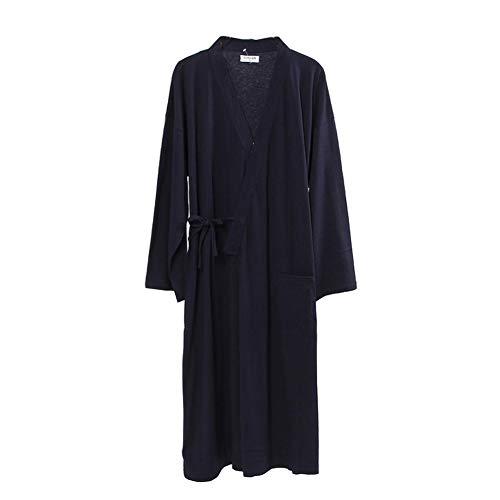 Style Méditation Costume Japonais Kimono Pumpkin Des Navy421 Pyjamas Hommes De Fancy Ensemble qw0xHp