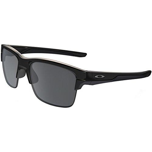 Oakley Thinlink Sunglasses, Polished Black/Black Iridium, One ()