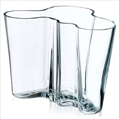 Amazon Iittala Aalto Vase Clear Large Home Kitchen