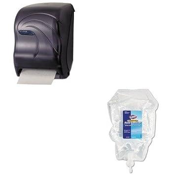 kitcox01753sjmt1390tbk – Value Kit – Clorox Unscented Hidratante mano desinfectante spray Recambio (cox01753) y