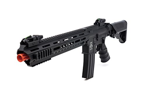 Black Ops M4 Viper Elite Upgraded AEG Airsoft Rifle - Upgraded Full Metal Gearbox and HopUp - Battery Not - Airsoft Gun Box Black
