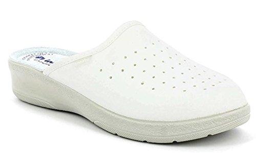 Da 33 Sanitarie Mod Ciabatte 50 Pantofole Bianco Donna Inblu 7qZtUt