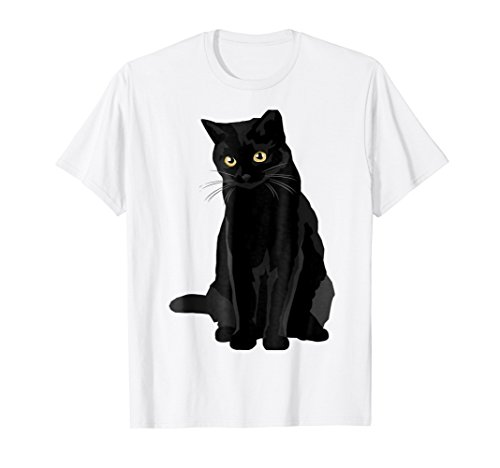 - Cat Tshirt Black Cat Cool For Man Woman Birthday Christmas