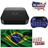 Portuguese version of A2 CANAIS DO BRAZIL Português Brasileiro Android IPTV 4k Ultra HD Filmes OnDemand TV Brasileiros with 16.1 Jarvis