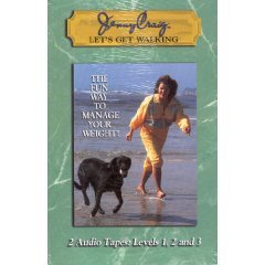 jenny-craig-lets-get-walking-2-audio-cassette-tapes-levels-1-2-and-3-by-jenny-craig