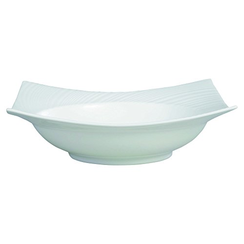 091574011516 - Wedgwood Ethereal Pasta Square Bowl, White carousel main 0