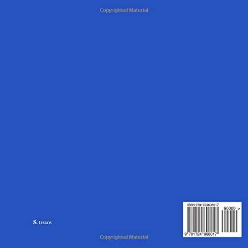 Libro De Visitas Love para bodas decoracion accesorios ideas regalos matrimonio eventos firmas fiesta hogar invitados boda 21 x 21 cm Cubierta Azul (Spanish ...