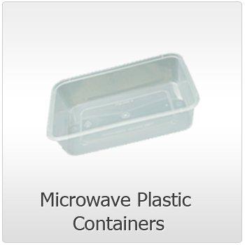 50 x microondas plástico seguro de Alimentos recipientes con ...
