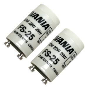 Sylvania 42511 - FS25/BL/2PK 12CS CP Ballast Starter (Fs25 Starter)