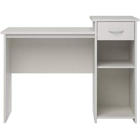 Mainstays Student Desk White + Cleaning Cloth
