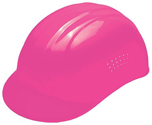 "ERB 19115 67 Bump Cap Standard Safety Vests, 6.5"" x 7.75"", Hi-Viz Pink"